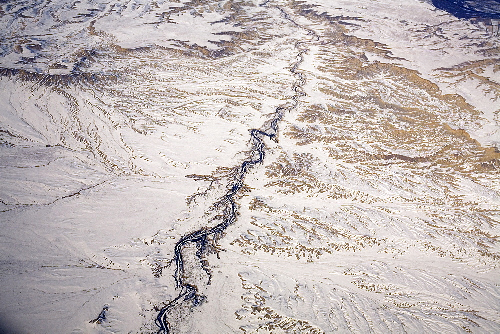 Aerial view of Colorado desert
