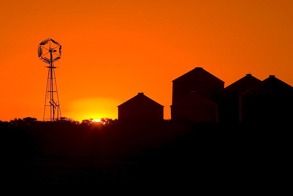 Windmill at dawn