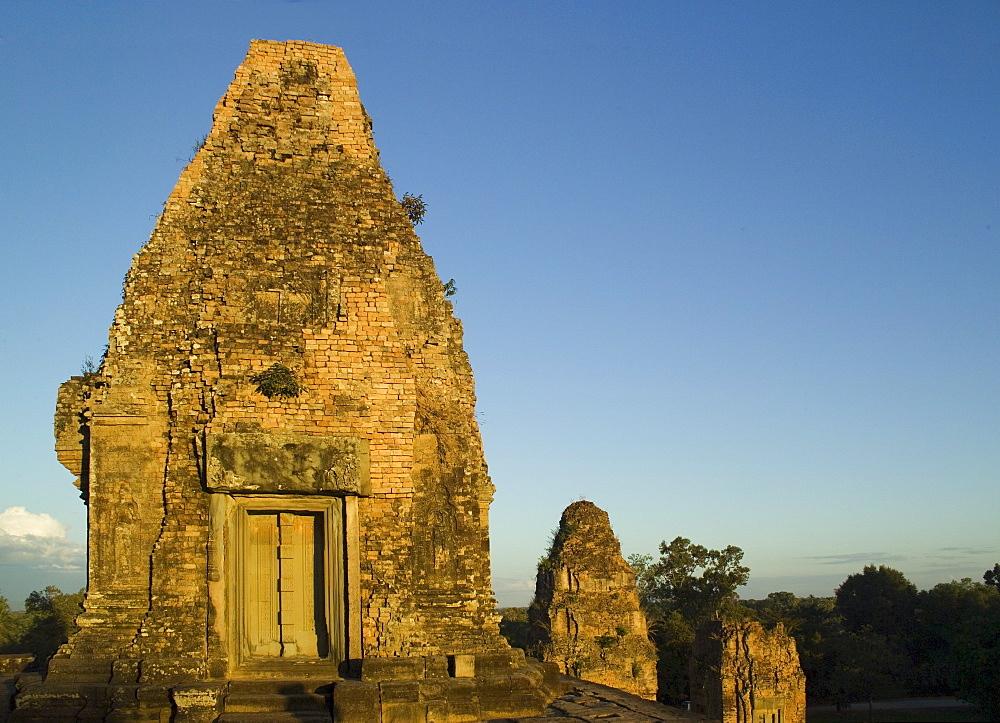 Ancient Temple Angkor Wat Cambodia Khmer Preah Rup