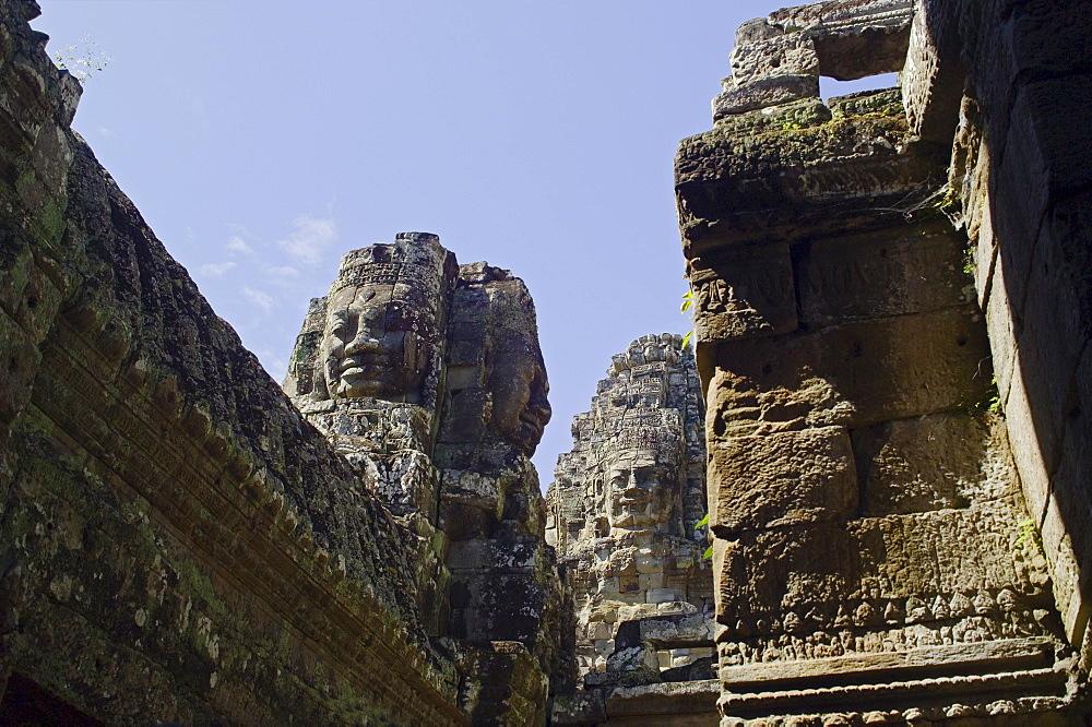 Ancient Temple Angkor Thom Angkor Wat Bayon Cambodia