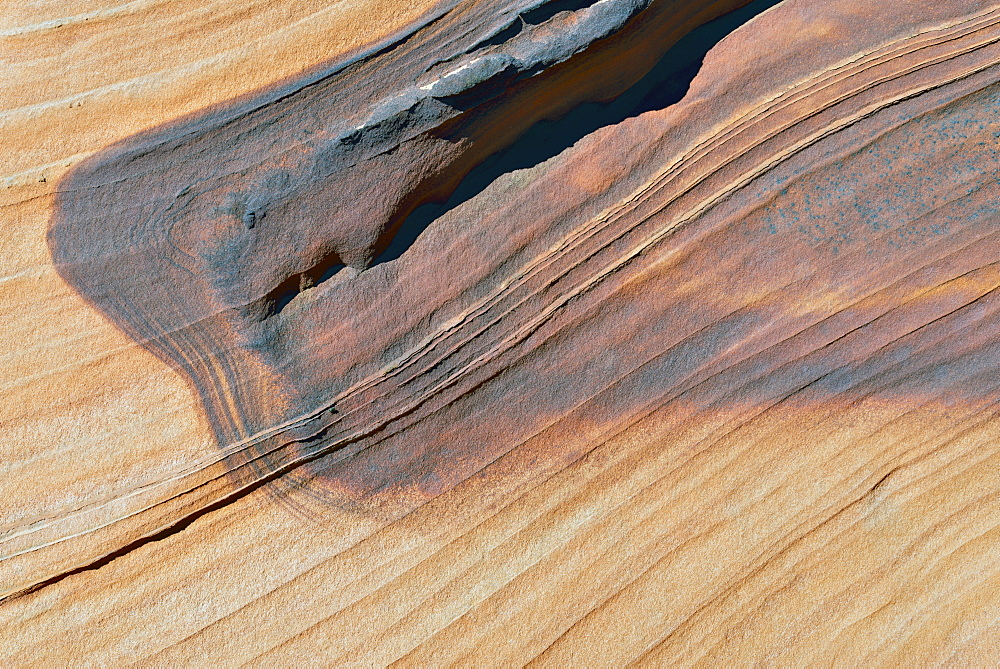 Art on sandstone, South Coyote Buttes, Arizona