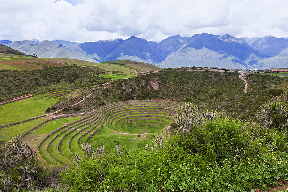Incan ruins, Peru, Cuzco, Moray