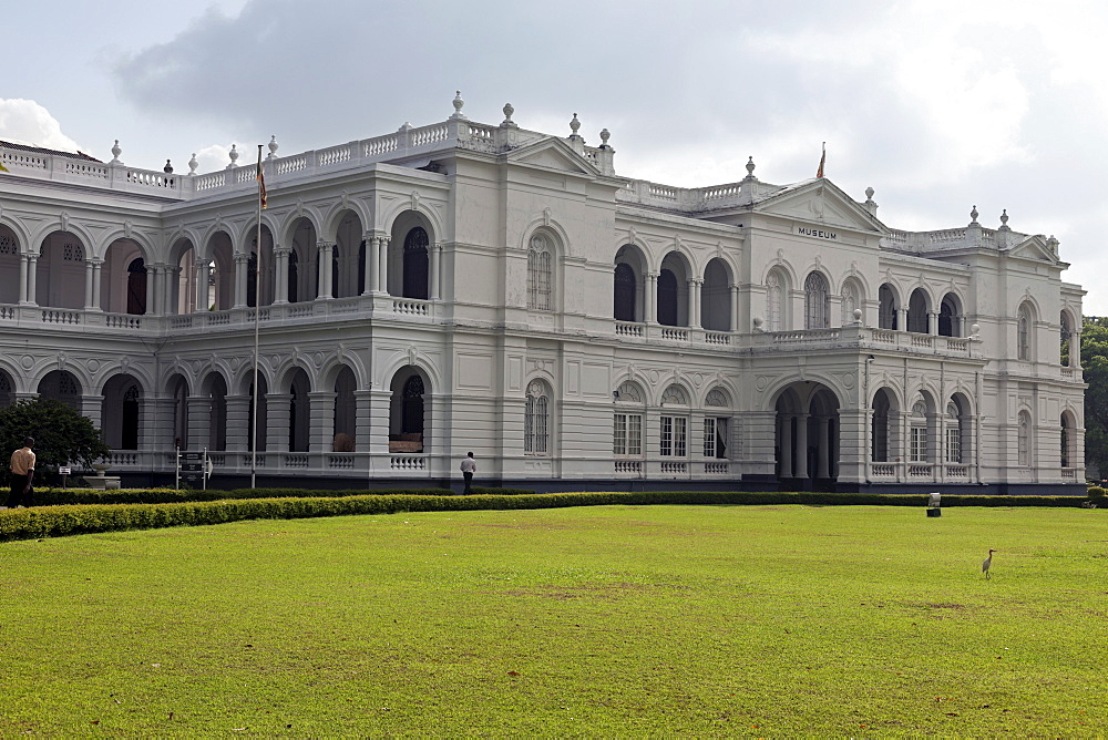 Facade of National Museum, Sri Lanka, Colombo