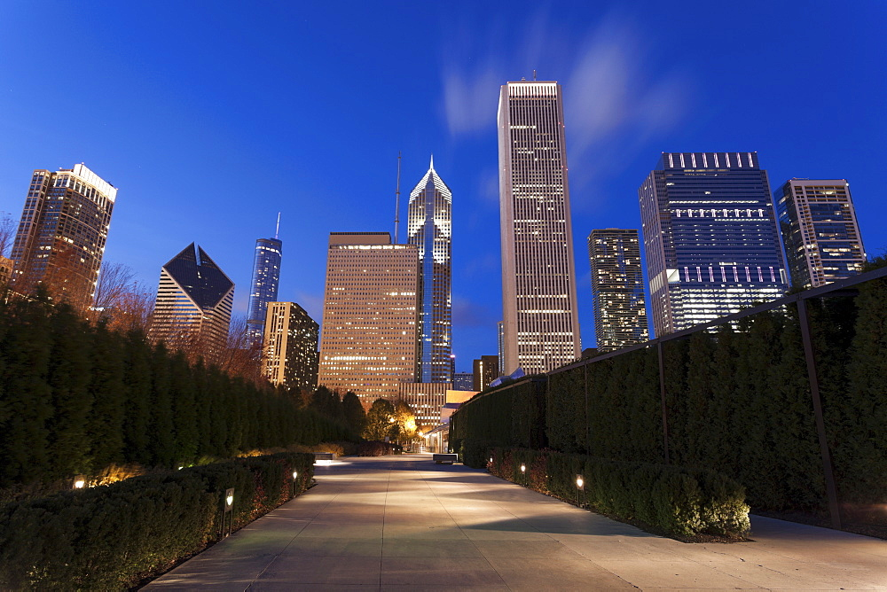 Cityscape of Chicago, Chicago, Illinois