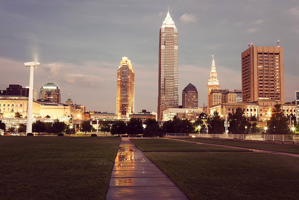 City skyline, Cleveland, Ohio