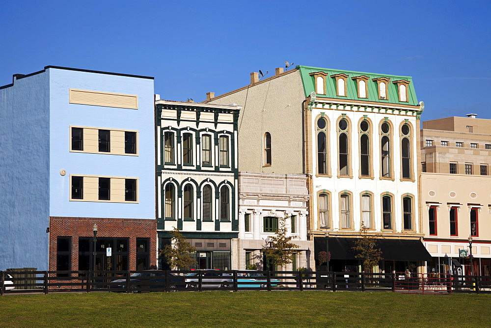 USA, Kentucky, Houses in downtown, Kentucky