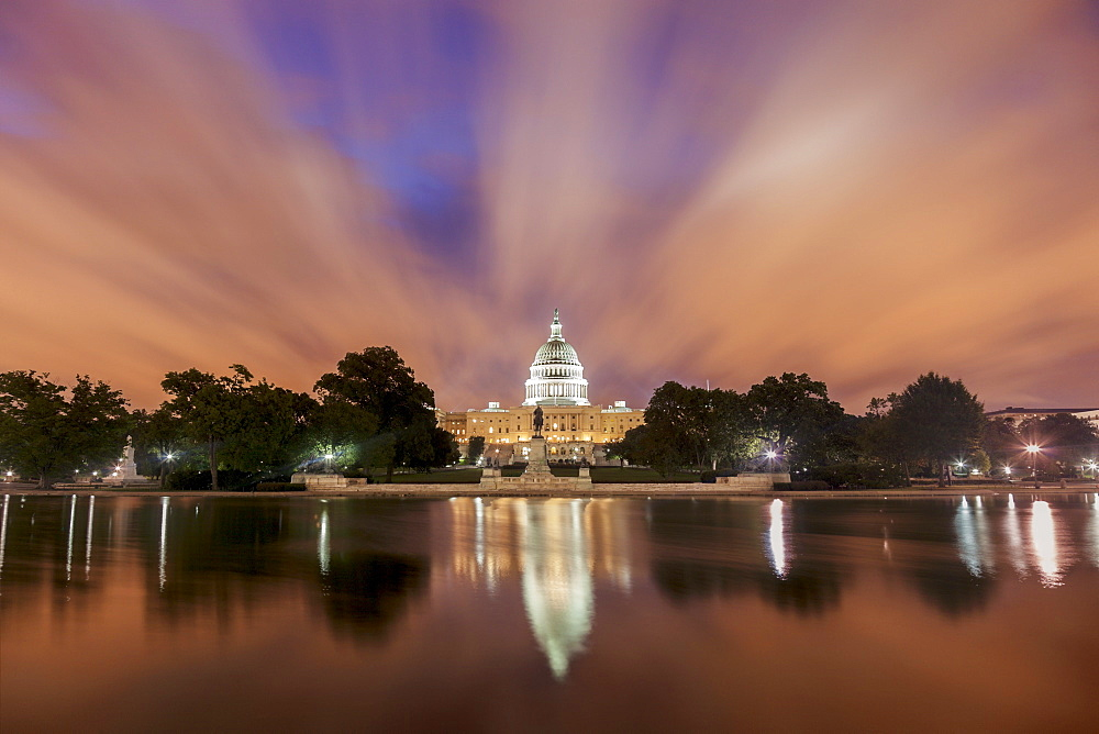 Capitol Building at sunrise, Washington, DC