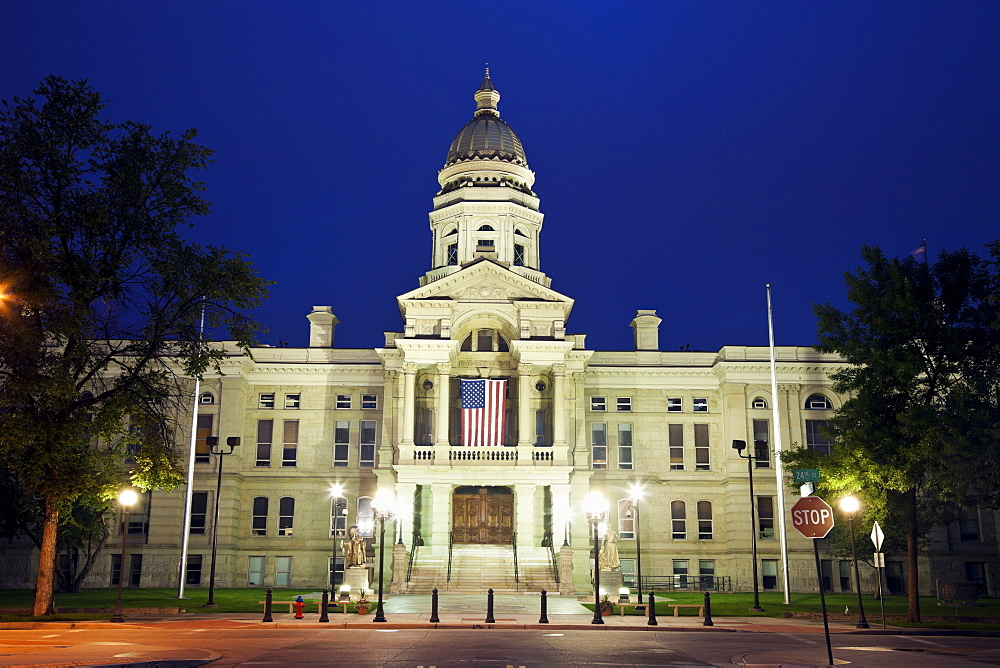 State Capitol Building in Cheyenne, USA, Wyoming, Cheyenne