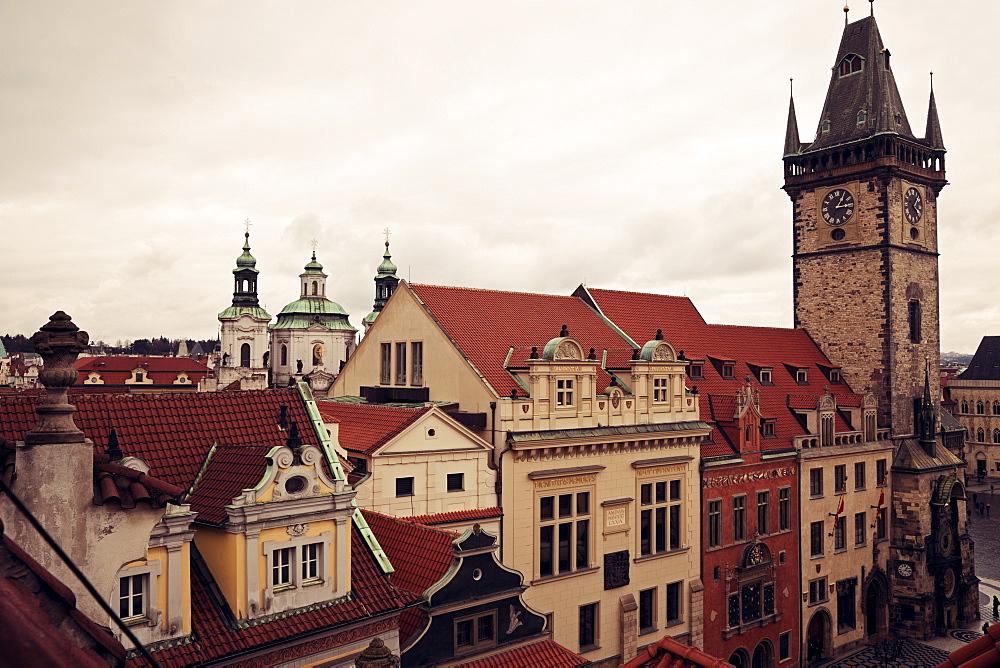 Czech Republic, Prague, Old town architecture, Czech Republic, Prague