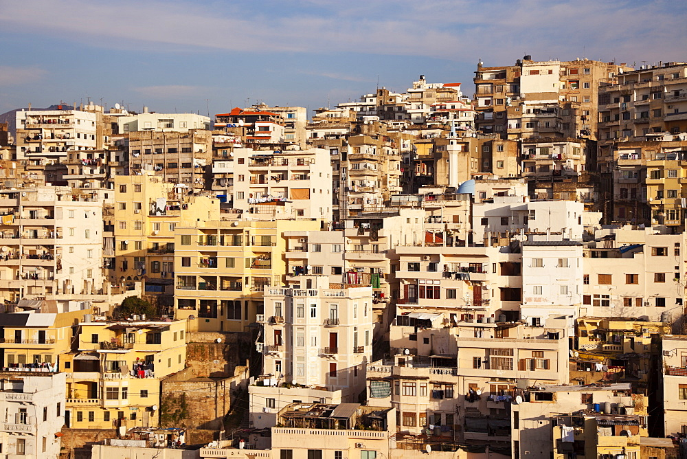 Panorama of modern day Tripoli