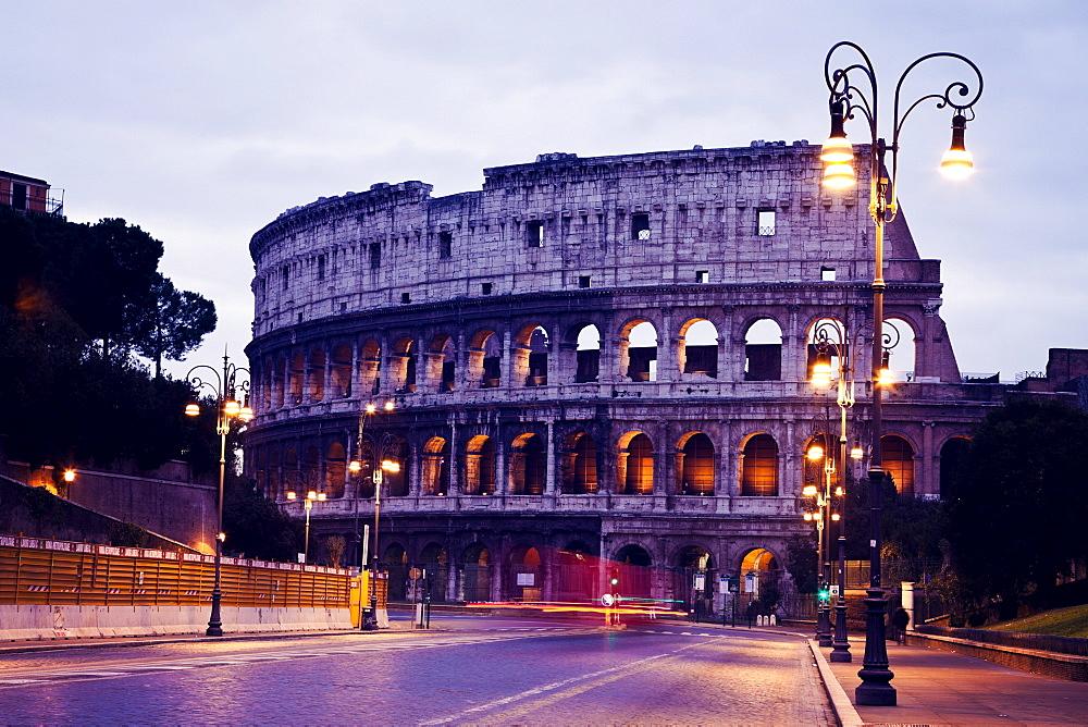 Coliseum at sunrise