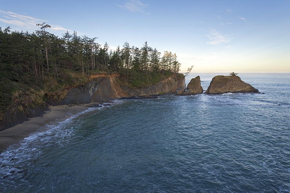 Shore Acres State Park, Coastal view