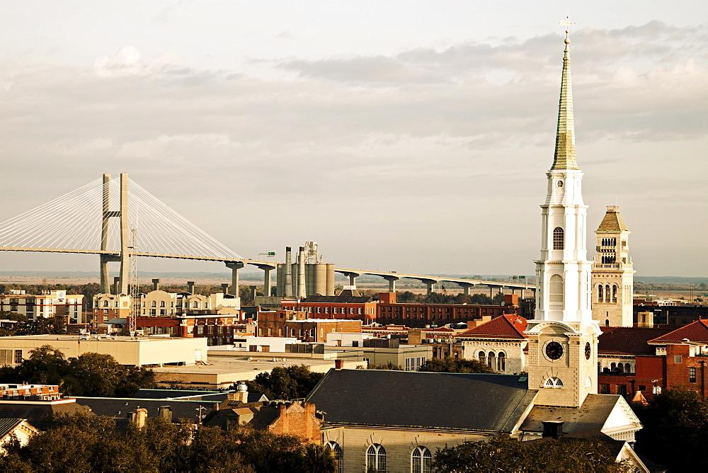 USA, Georgia, Savannah, Cityscape