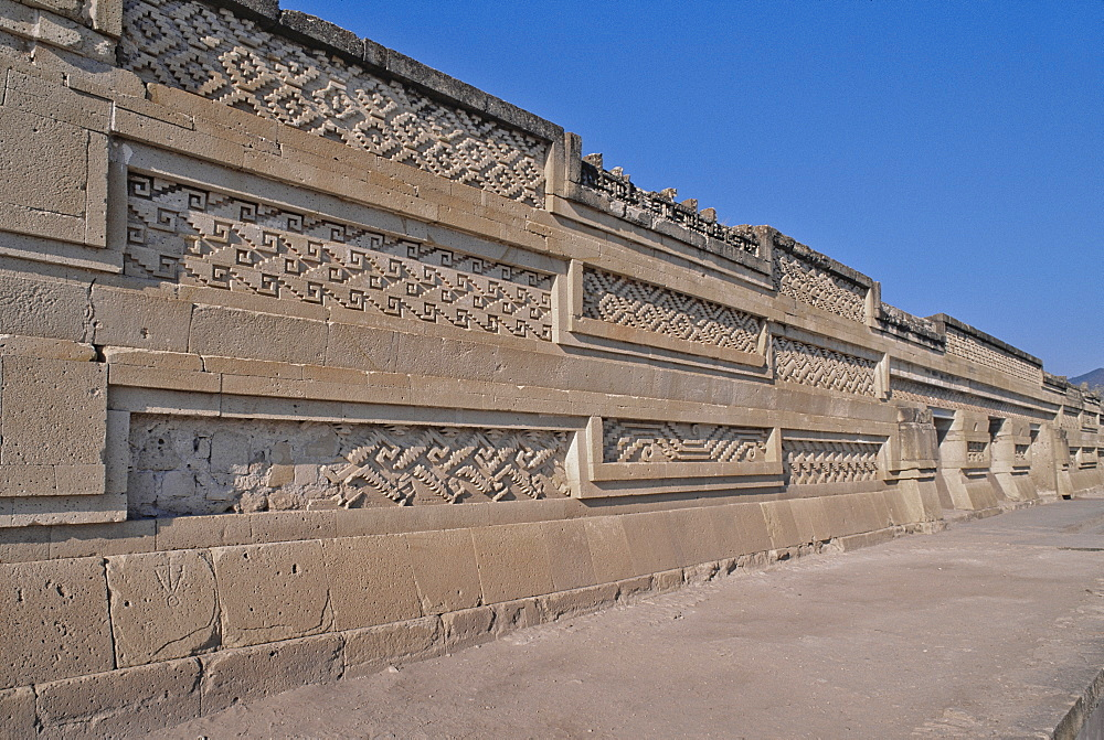 Mexico, Oaxaca, Oaxaca, Mitla, religious pre-Columbian archaeological site, built 900 BC by the Zapotecs