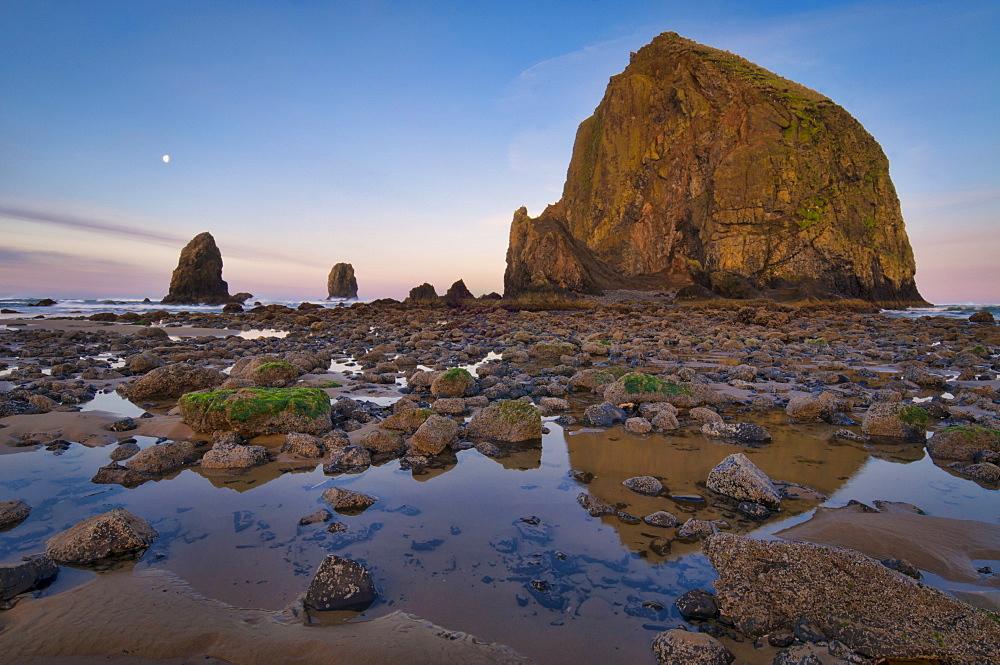 USA, Oregon, Clatsop County, Haystack Rock