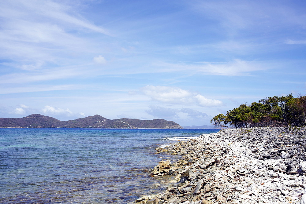 United States Virgin Islands, St. John, Coastline landscape, United States Virgin Islands, St. John