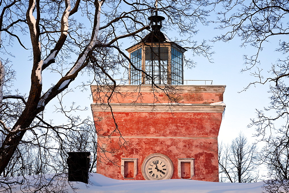 Finland, Helsinki, Suomenlinna Sea Fortress