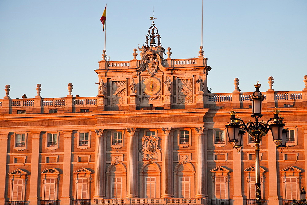 Spain, Madrid, Palacio Real
