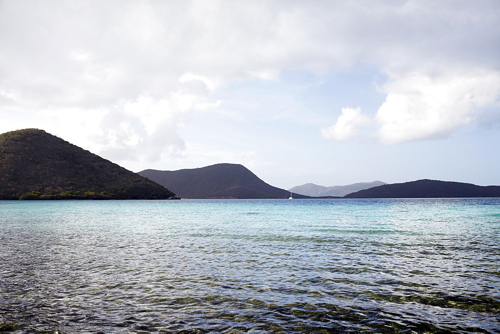 United States Virgin Islands, St. John, Seascape, United States Virgin Islands, St. John