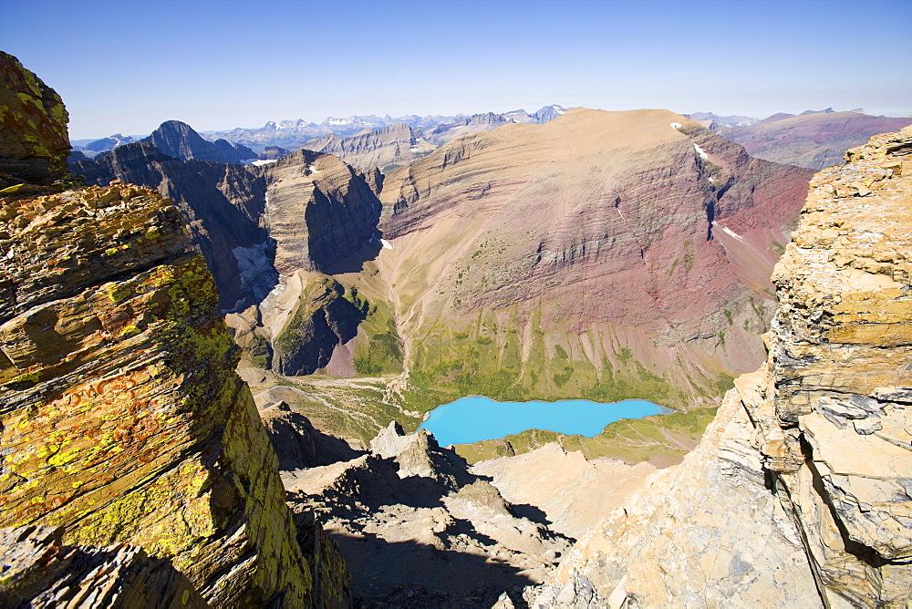 USA, Montana, Glacier National Park, Glacier lake