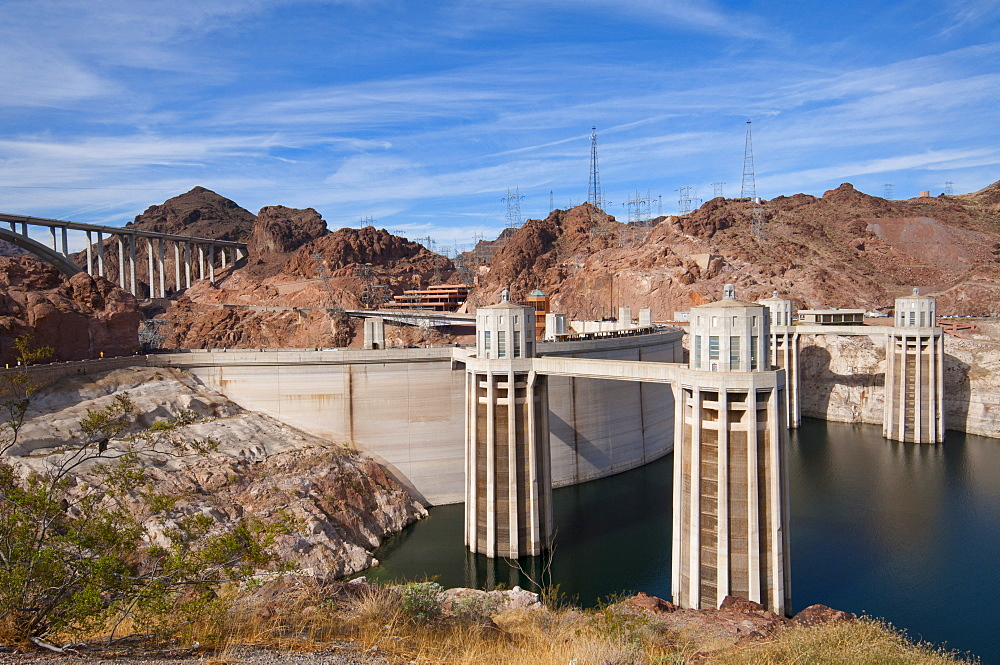 USA, Arizona/California, Hover Dam