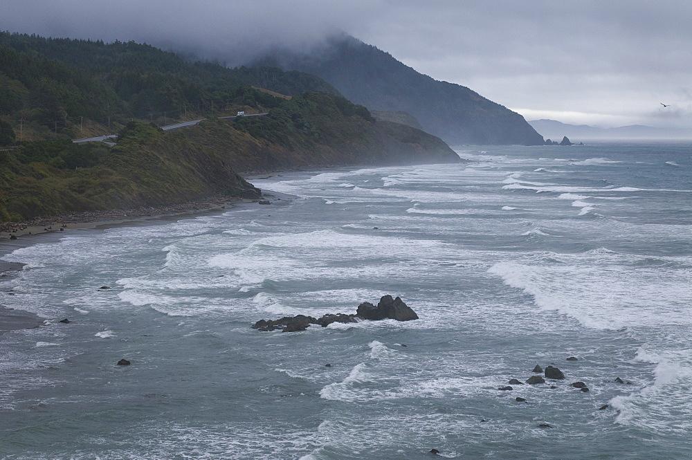 USA, Oregon, Coastline