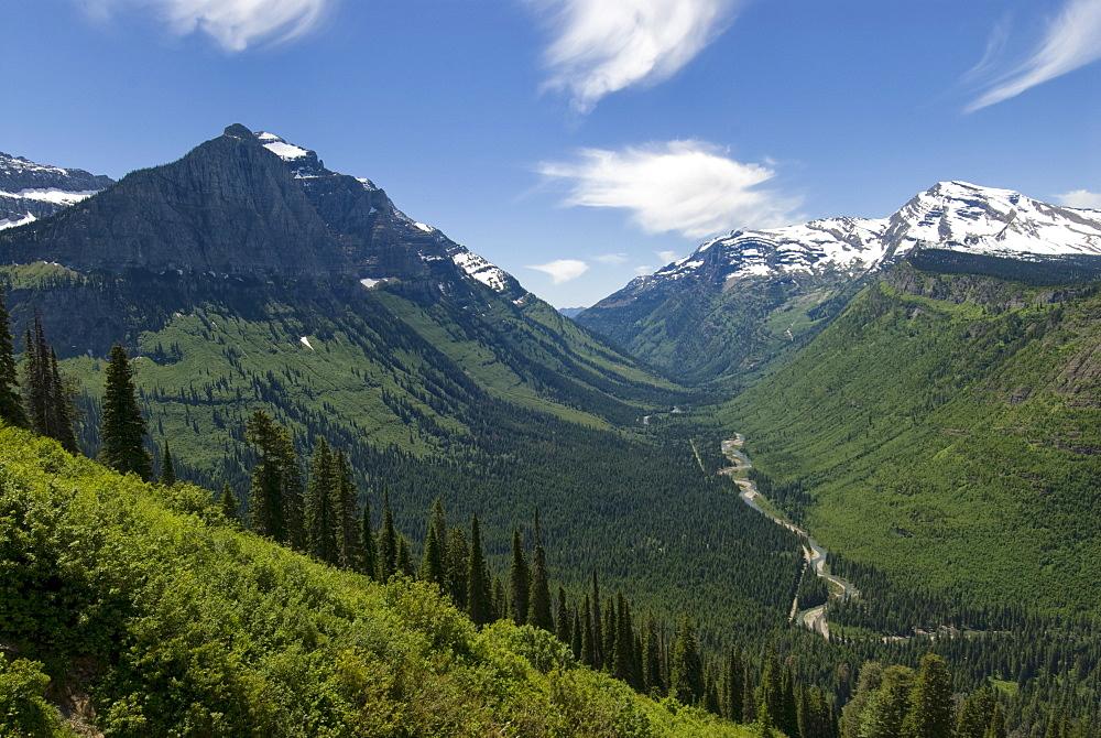 USA, Montana, Glacier National Park, scenic