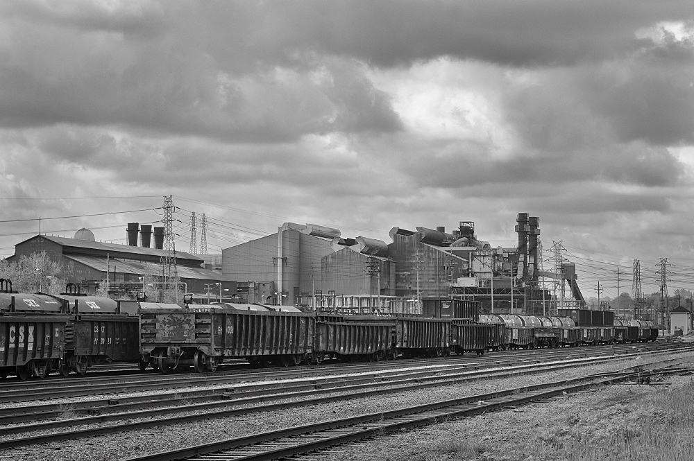 USA, Ohio, Steel Mill