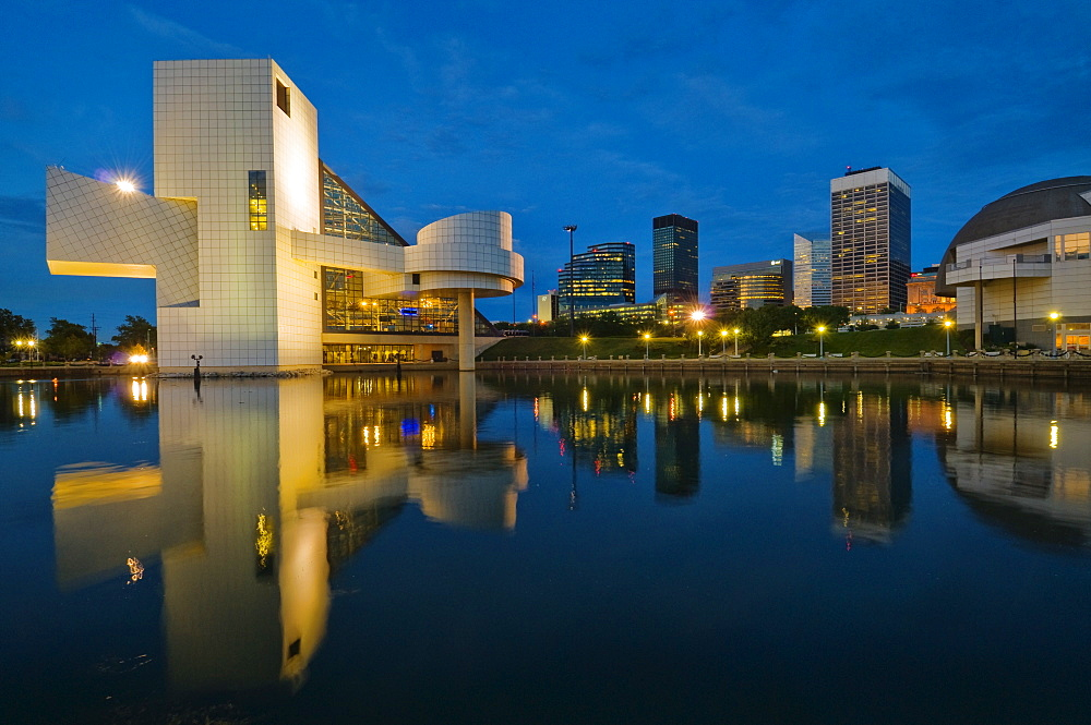 USA, Ohio, Rock Hall of Fame