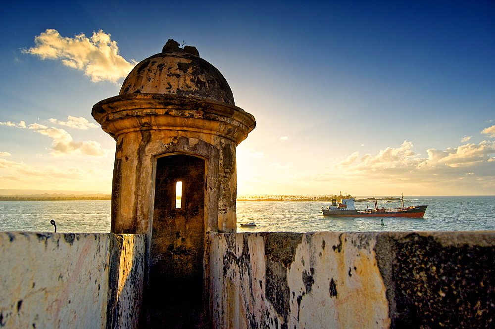 Puerto Rico, Fort watch tower