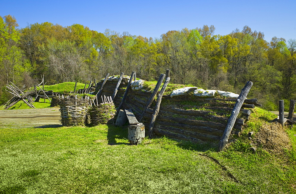 Defenses at Vicksburg National Military Park