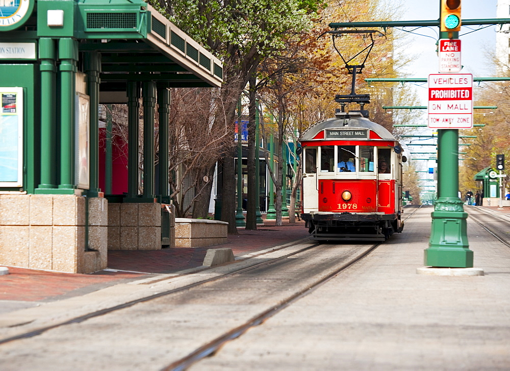 Street car in Memphis