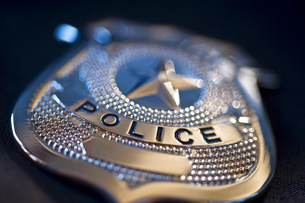 Police badge - 1178-8607