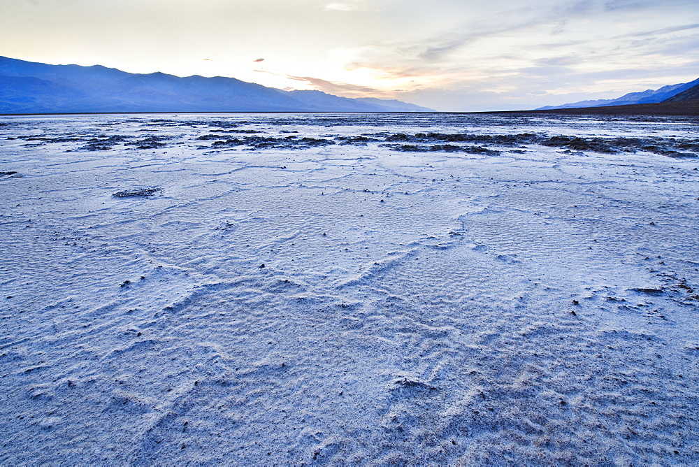 Badwater Flats in Death Valley