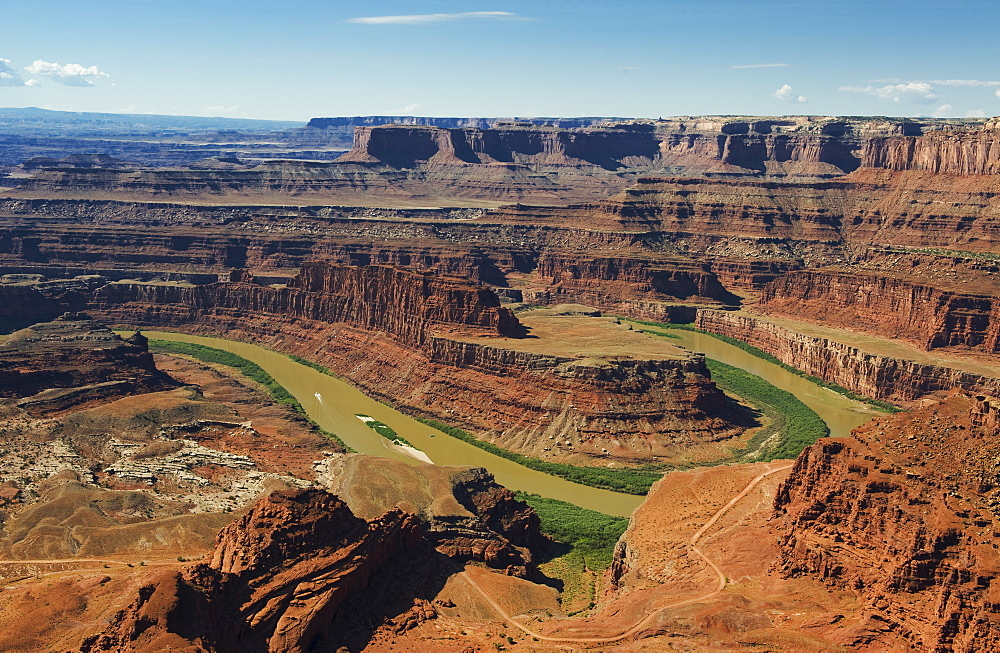 Colorado River from Grand View Point, Utah