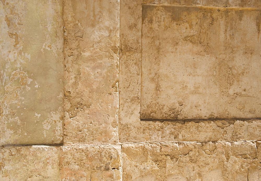 Close up of wall, Mdina, Malta