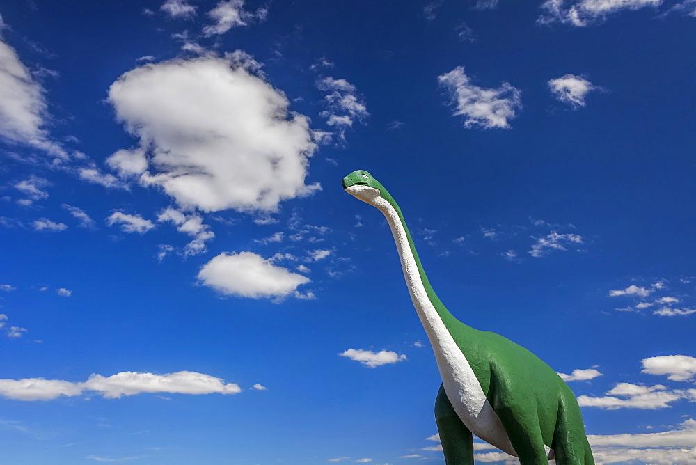 Dinosaur Park, Cute large dino, USA, South Dakota, Dinosaur Park, Rapid City