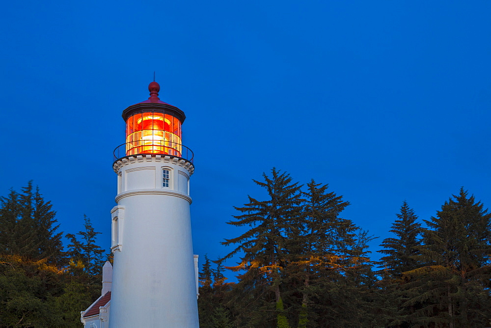 Historic Umpqua lighthouse, Winchester Bay, OR