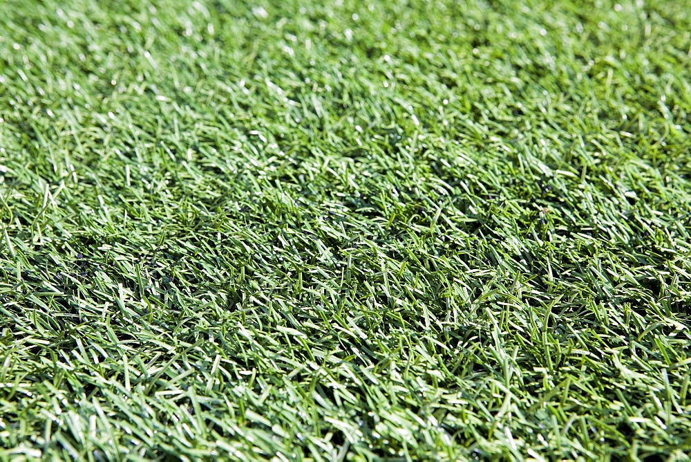 Full frame of artificial turf