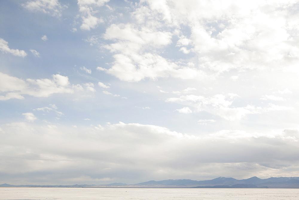 USA, Utah, Salt Lake City, View of desert, USA, Utah, Salt Lake City