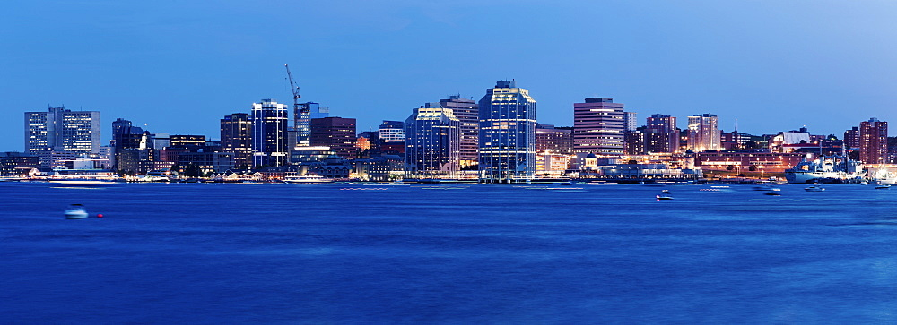 Panoramic view of city, Nova Scotia, Canada