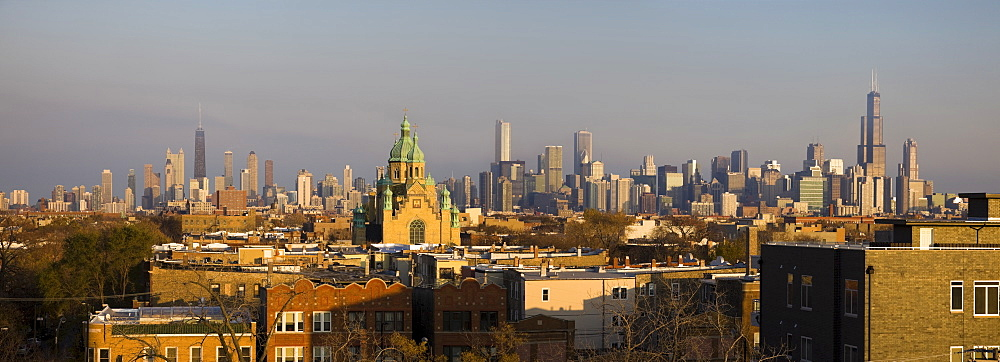 USA, Illinois, Chicago skyline