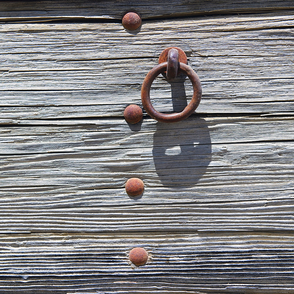 A wooden surface