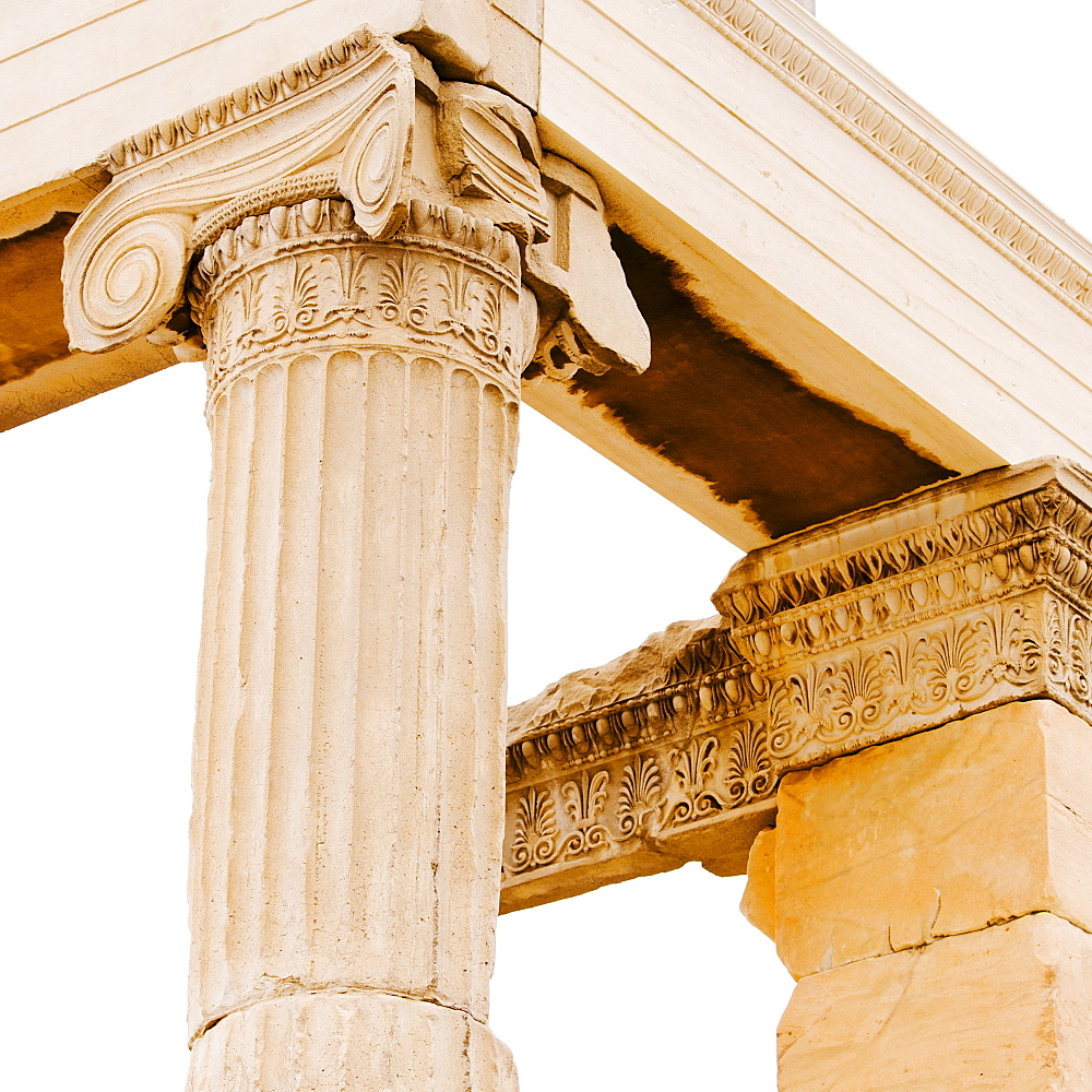 Greece, Athens, Acropolis, Corinthian column ruin