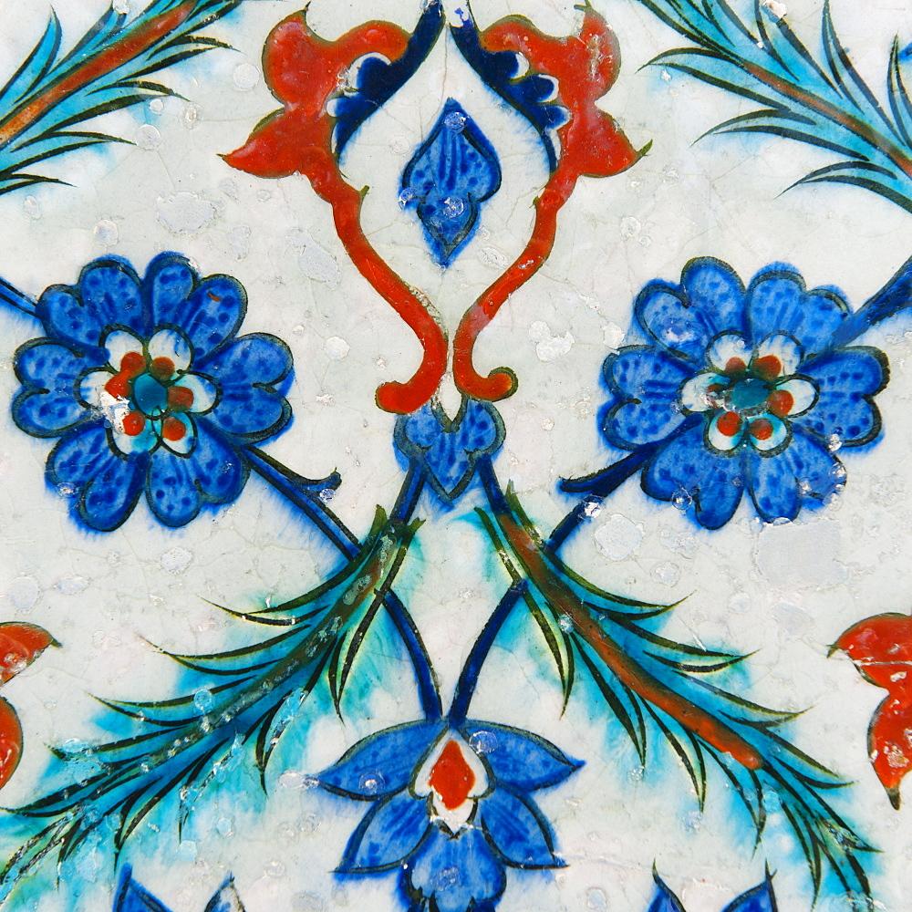 Turkey, Istanbul, Topkapi Palace tilework - 1178-15266