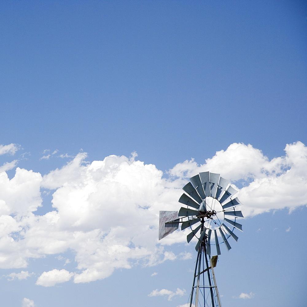 A small rural windmill