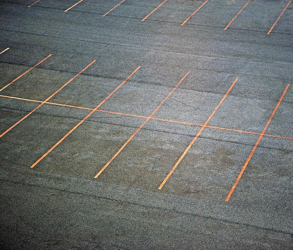 empty parking spaces