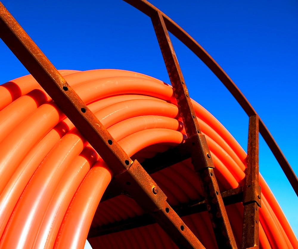 construction tubing