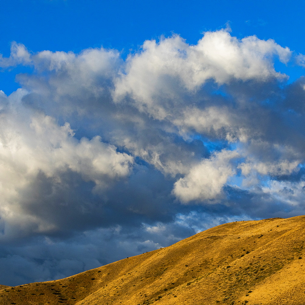 Cloud over Bosie Foothills in Boise, Idaho, United States of America