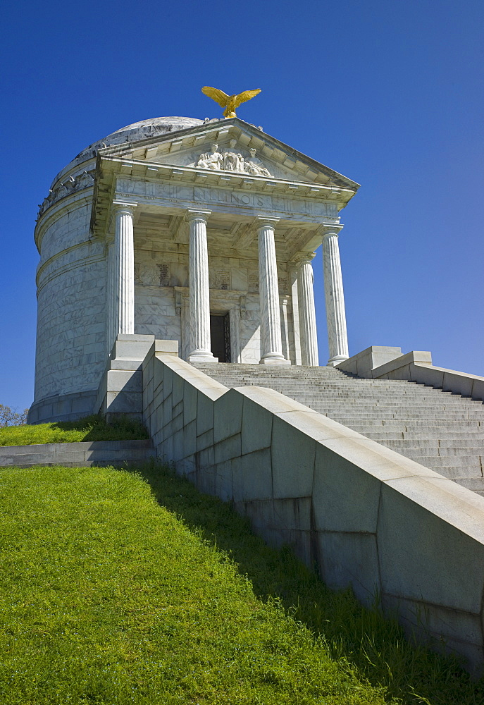 Illinois memorial at Vicksburg National Military Park
